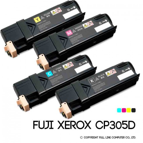 ตลับหมึก FUJI XEROX CP305D CMYK