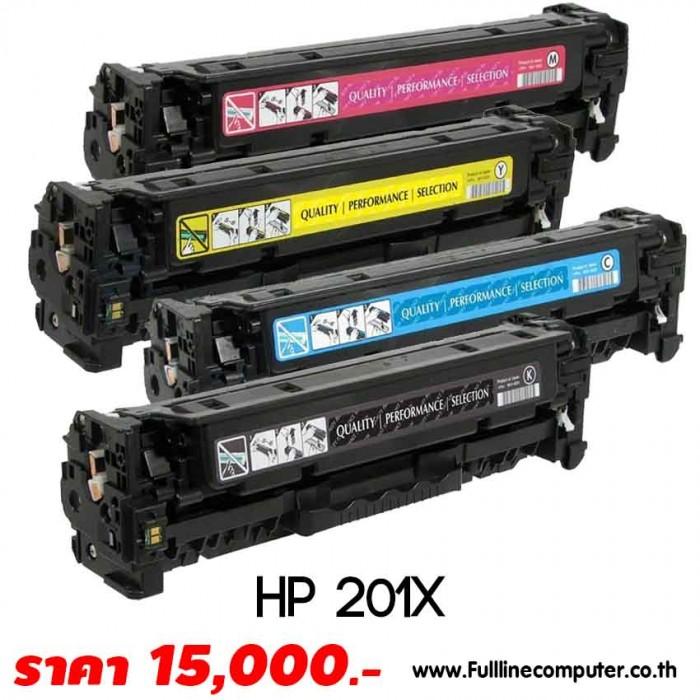 ตลับหมึก HP 201X Toner แท้