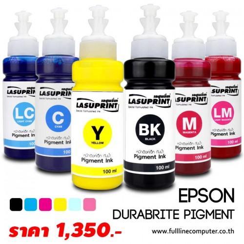 หมึก PIGMENT EPSON DURABRIGHT กันน้ำ 6 Color