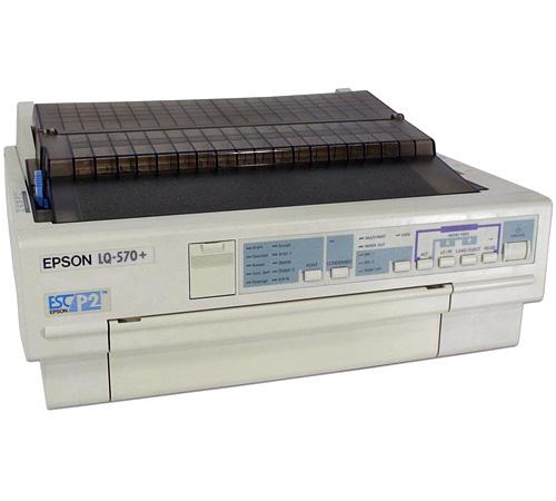 เครื่องพิมพ์ดอทเมตริกซ์ Epson LQ-570+